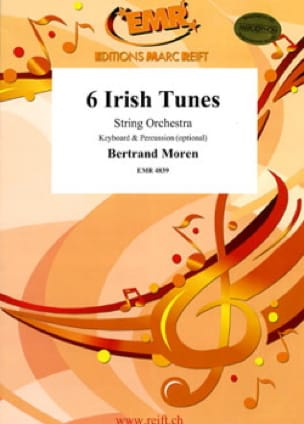 Bertrand Moren - 6 Irish tunes - Sheet Music - di-arezzo.com