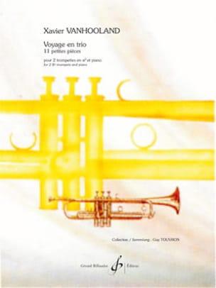 Xavier Vanhooland - Voyage en trio - 11 Petites pièces - Partition - di-arezzo.fr