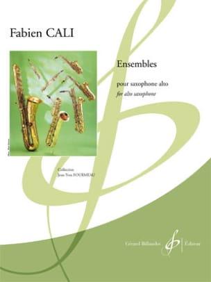 Fabien Cali - Ensembles - Partition - di-arezzo.fr