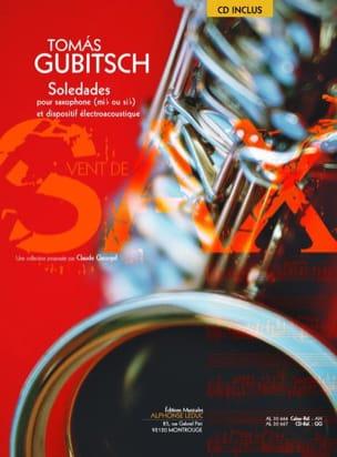 Soledades - Tomas Gubitsch - Partition - Saxophone - laflutedepan.com