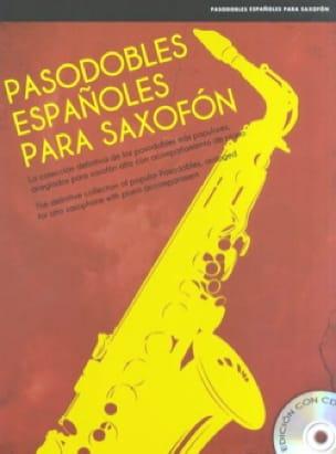 - Pasodobles Españoles Para Saxofón - Partition - di-arezzo.fr