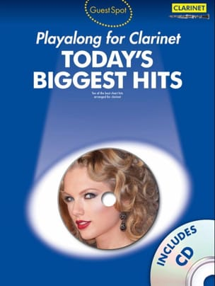 Guest spot playalong for clarinet - Today's biggest hits - laflutedepan.com