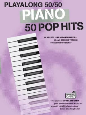 Playalong 50/50 - Piano - Pop hits - Partition - di-arezzo.fr