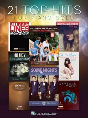 - 21 Top hits for solo piano - Sheet Music - di-arezzo.co.uk