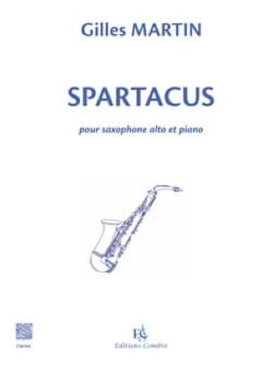 Gilles Martin - Spartacus - Sheet Music - di-arezzo.co.uk
