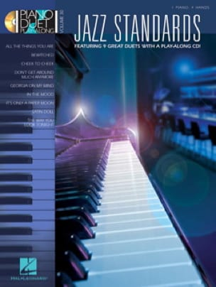 - Piano Duet Play-Along Volume 30 - Standard Jazz - Sheet Music - di-arezzo.com