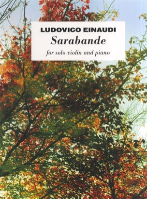Ludovico Einaudi - Saraband - Partition - di-arezzo.co.uk