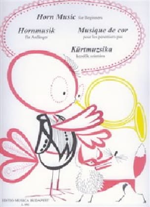 - Musique de cor pour les premiers pas - Partition - di-arezzo.fr