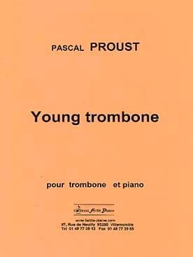 Young trombone - Pascal Proust - Partition - laflutedepan.com