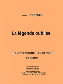 André Telman - The forgotten legend - Sheet Music - di-arezzo.co.uk