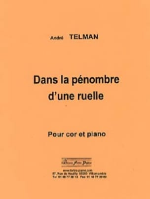André Telman - In the dim light of an alley - Sheet Music - di-arezzo.com
