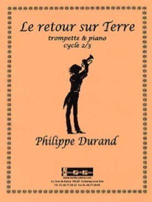 Le retour sur terre - Philippe Durand - Partition - laflutedepan.com