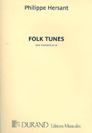 Philippe Hersant - Folk tunes - Partition - di-arezzo.fr