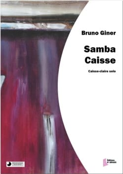 Bruno Giner - Samba cashier - Sheet Music - di-arezzo.co.uk