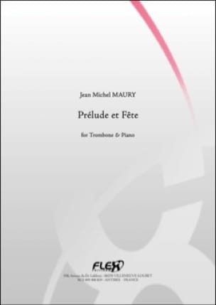 Jean Michel Maury - Prelude and party - Sheet Music - di-arezzo.com