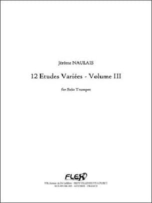 Jérôme Naulais - 12 various studies volume III - Sheet Music - di-arezzo.com