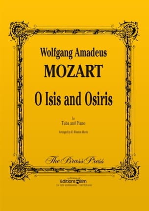 O Isis and Osiris - MOZART - Partition - Tuba - laflutedepan.com