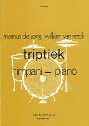 Hein de Jong & William van Neck - Triptiek - Partition - di-arezzo.fr