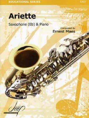 Ariette Ernest Maes Partition Saxophone - laflutedepan