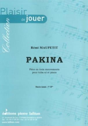 Pakina - Piéce en trois mouvements - Rémi Maupetit - laflutedepan.com
