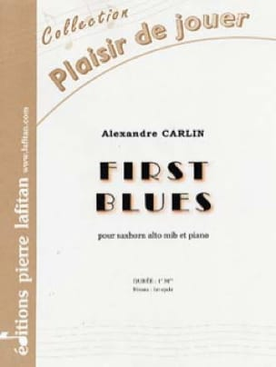 Alexandre Carlin - First blues - Partition - di-arezzo.fr