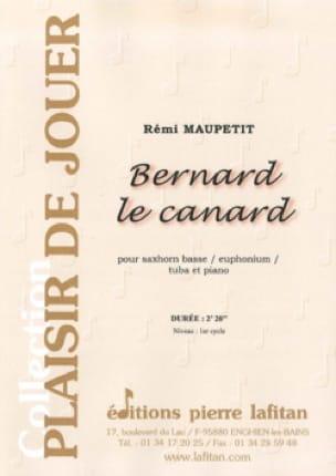 Bernard le canard - Rémi Maupetit - Partition - laflutedepan.com