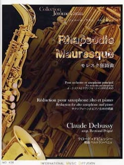 DEBUSSY - Rhapsodie mauresque - Partition - di-arezzo.fr