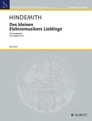 Paul Hindemith - Des kleinen elektromusikers lieblinge - Partition - di-arezzo.fr