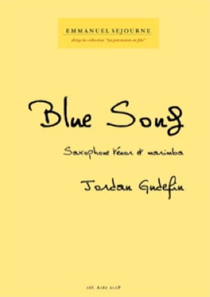 Jordan Gudefin - Blue song - Partition - di-arezzo.fr