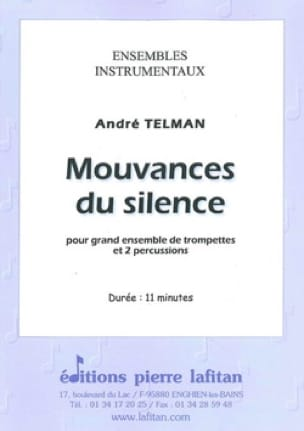 André Telman - Silent movements - Sheet Music - di-arezzo.com