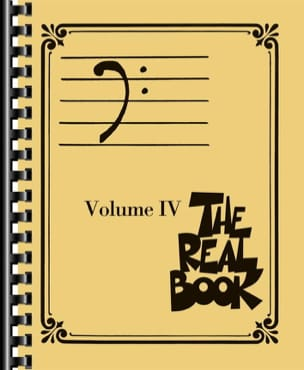 - The real book volume 4 - Bass clef edition - Sheet Music - di-arezzo.com