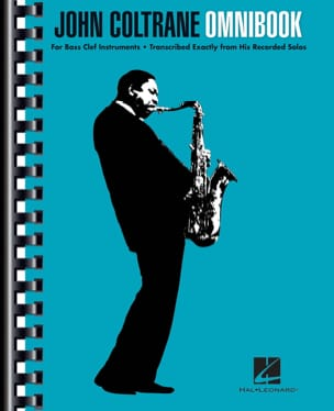 John Coltrane - Omnibook for instrument in F - Sheet Music - di-arezzo.com