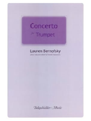 Concerto for Trumpet Lauren Bernofsky Partition laflutedepan