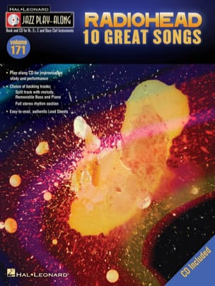 Jazz play-along volume 171 - 10 Great songs - laflutedepan.com