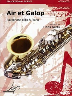 Hans Aerts - Air and gallop - Sheet Music - di-arezzo.com