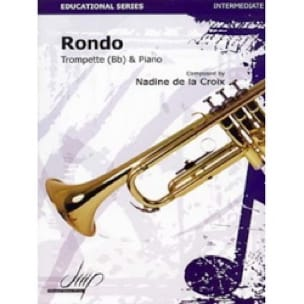 Rondo - la Croix Nadine de - Partition - Saxophone - laflutedepan.com