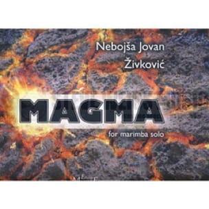 Nebojsa jovan Zivkovic - Magma - Sheet Music - di-arezzo.co.uk