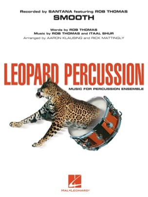 Thomas Rob / Shur Itaal - Smooth - Leopard percussion - Partition - di-arezzo.fr