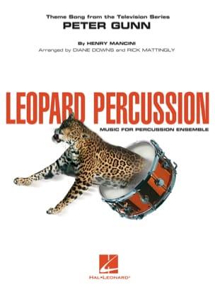 Peter gunn - Leopard percussion MANCINI Partition laflutedepan