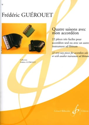 Frédéric Guérouet - Four seasons with my accordion - Sheet Music - di-arezzo.co.uk