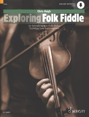 Chris Haigh - Exploring folk fiddle - Partition - di-arezzo.fr