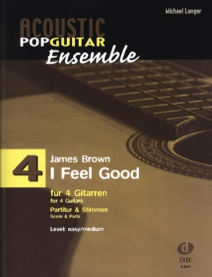 James Brown - I feel good - Acoustic pop guitar set N ° 4 - Sheet Music - di-arezzo.co.uk