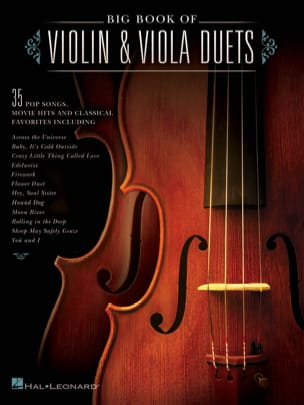 Big book of violin - viola duets - Sheet Music - di-arezzo.com