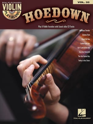 Violin play-along volume 33 - Hoedown Partition laflutedepan
