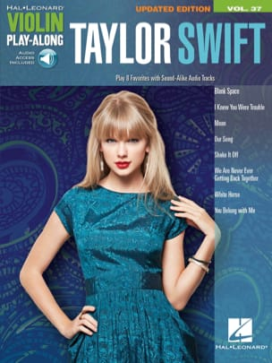 Violin play-along volume 37 - Taylor Swift Swift Taylor laflutedepan