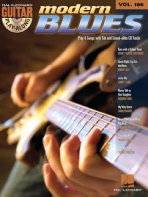 Guitar play-along volume 166 - Modern blues - laflutedepan.com