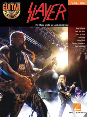 Slayer - Guitar play-along volume 156 - Slayer - Partition - di-arezzo.fr