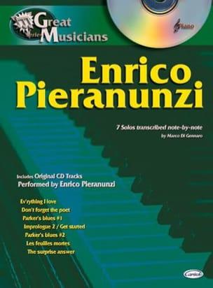 Enrico Pieranunzi - Série Great Musicians - Partition - di-arezzo.fr