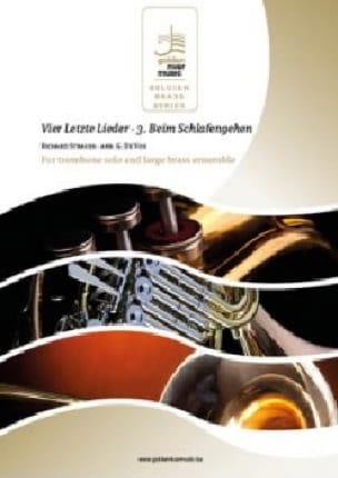Richard Strauss - Vier letzte Lieder - 3 Beim Schlafengehen - Partition - di-arezzo.fr