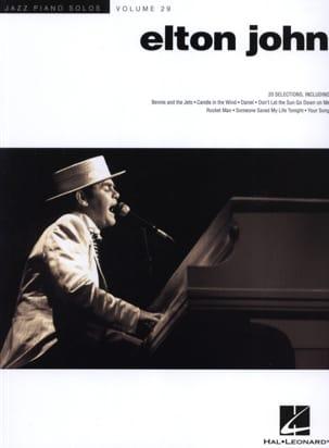 Elton John - ジャズ・ソロスピアノ第29巻 - エルトン・ジョン - Partition - di-arezzo.jp